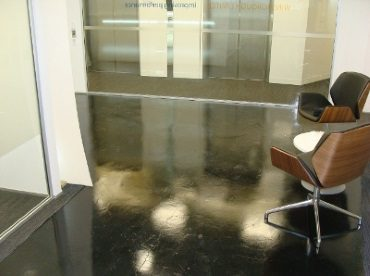 Decorated Surfaces - Office Reception