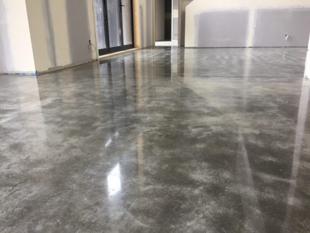Polished Concrete Polishshield Natural Finish